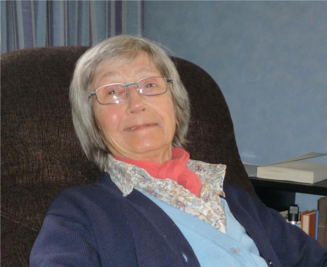 Jeannette chez elle en 2011
